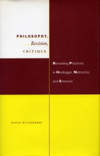 Rereading Practices in Heidegger, Nietzsche, and Emerson
