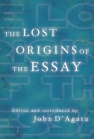 lost origins of the essay book cover