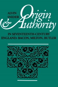 Origin and Authority