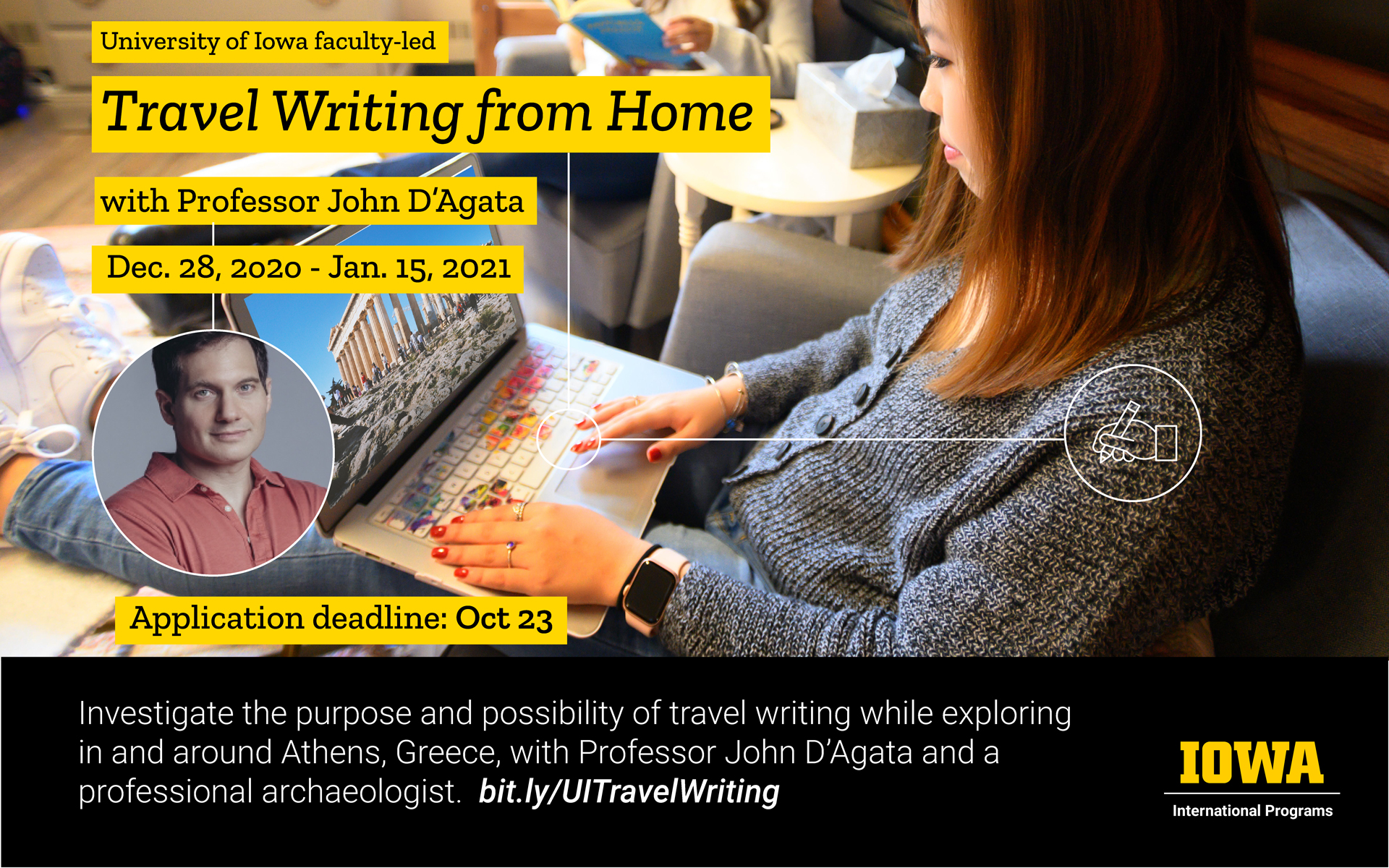 Travel Writing from Home
