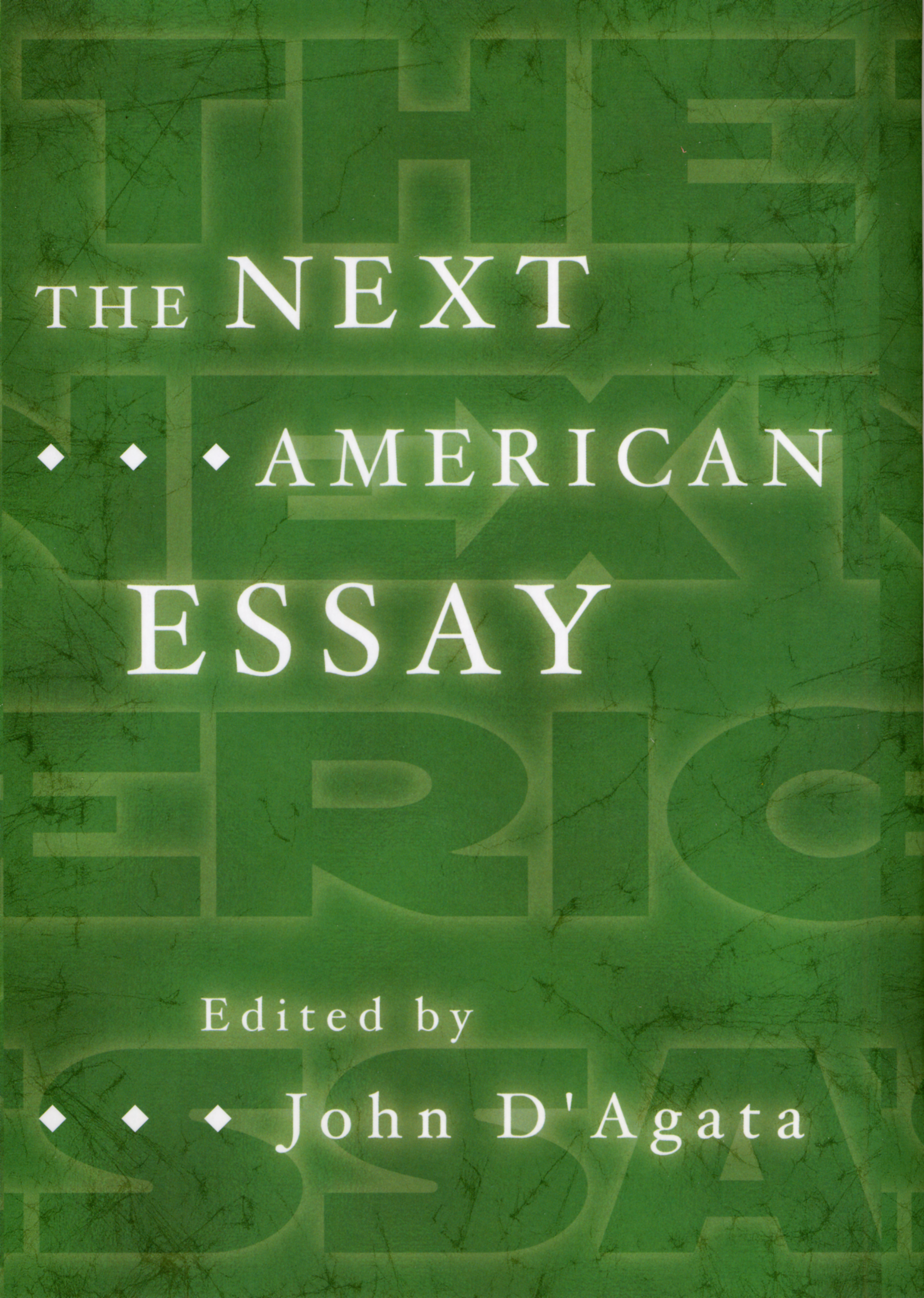 american essay next The next americans for millions of others to follow them would be created what effect will these permanently settled immigrants have on american.