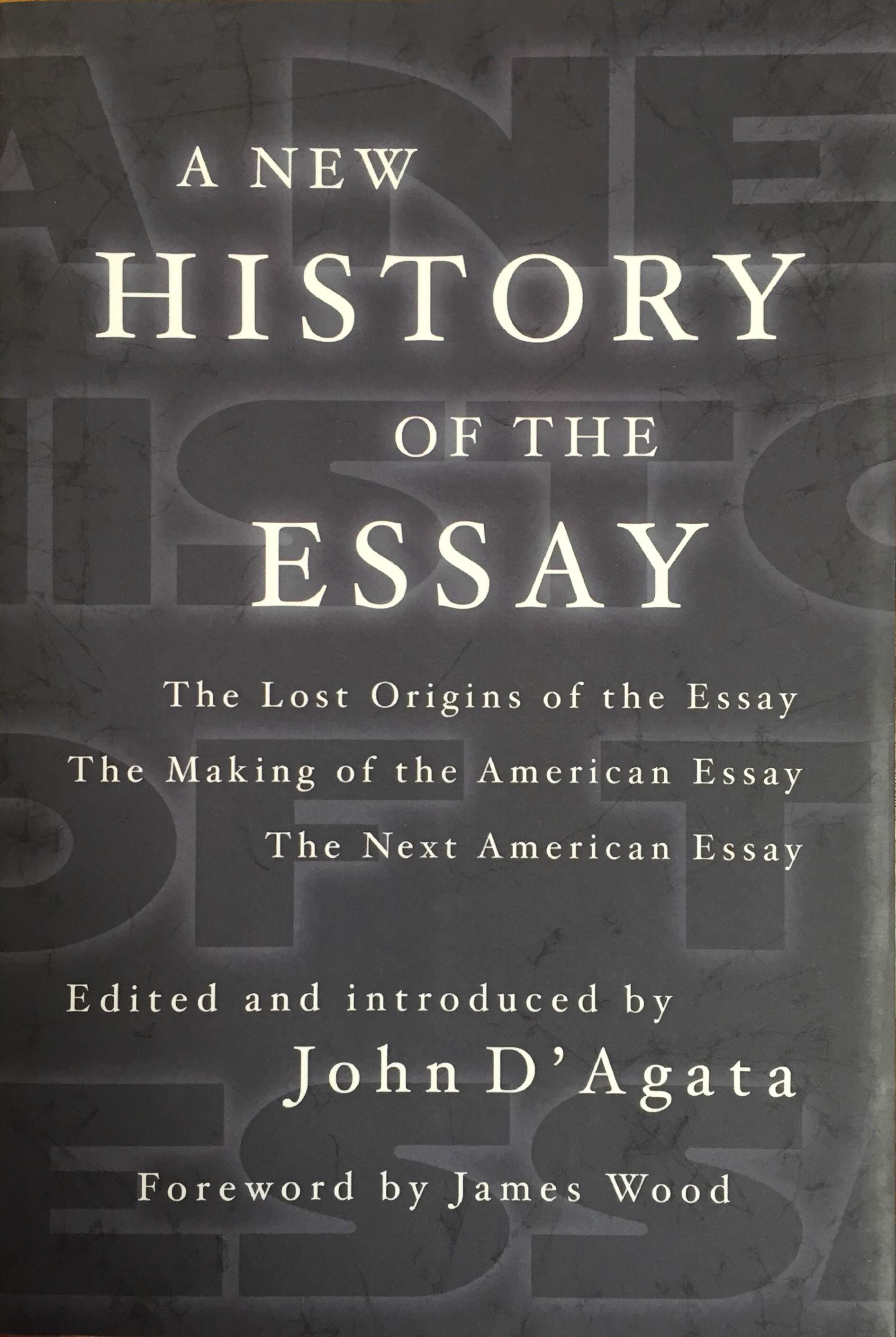 History of english essay