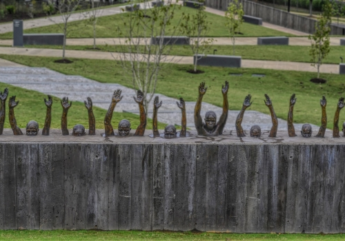 The National Memorial for Peace and Justice. Photo by Patricia Foster.