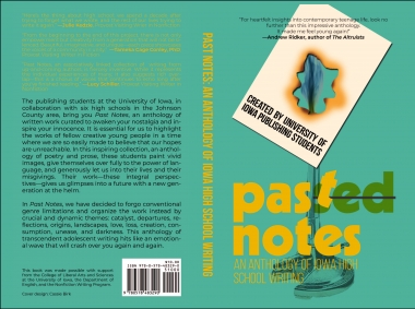 Past Notes, an anthology of high school writing