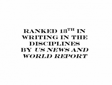 Ranked 13th in Writing in the Disciplines by US News and World Report