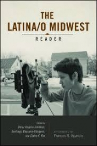 cover of the latina/o midwest reader