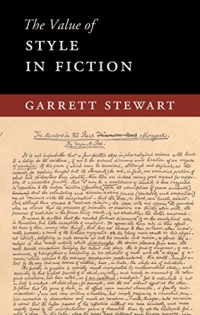 "Book cover for ""The Value of Style in Fiction"" by Garrett Stewart."